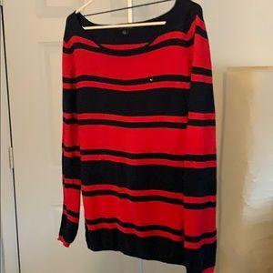 L/S boat neck sweater